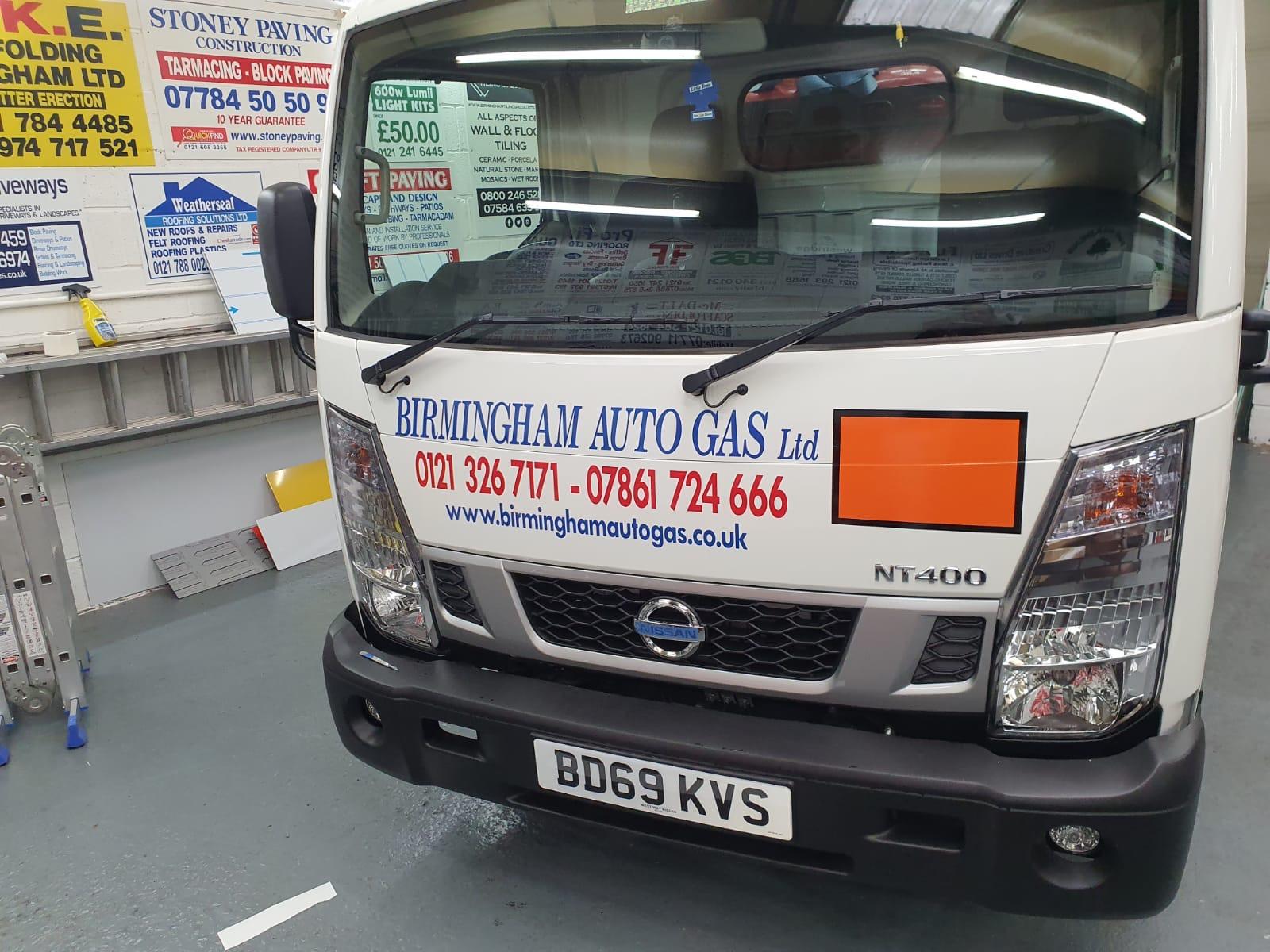 New Gas Cylinder Van added to Fleet