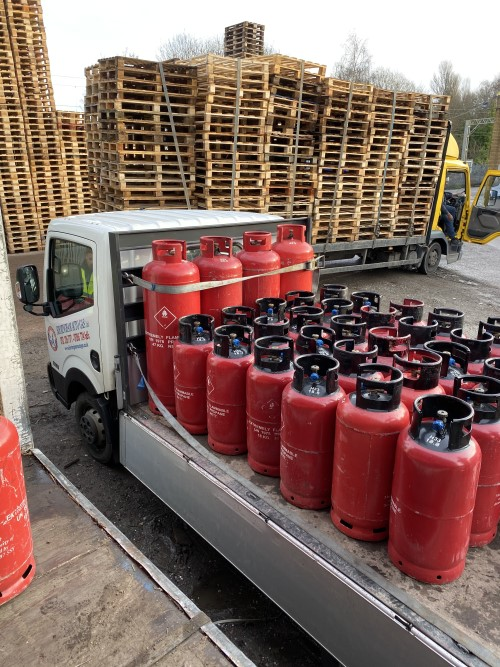 Fork Lift Truck Gas Cylinders
