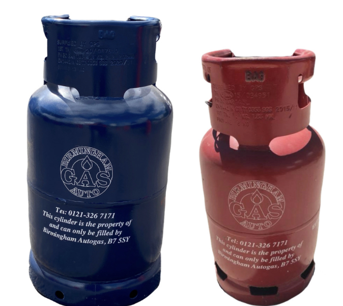 BBQ Gas Cylinders